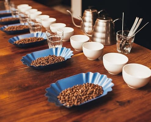 Mesa de Cupping